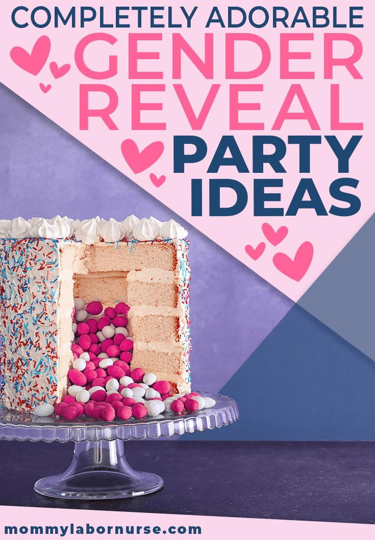 unique gender reveal party ideas pinterest pin