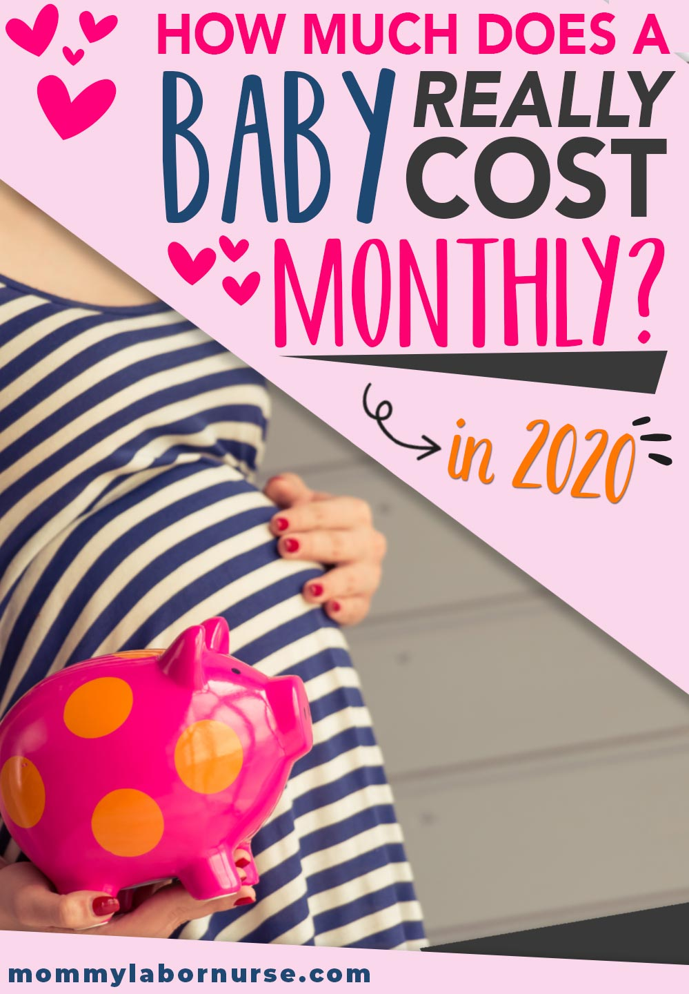how much does baby cost per month on average