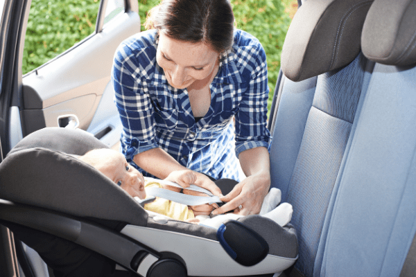 The Eternal Infant Car Seat Head Support Safety Debate—and the ANSWER