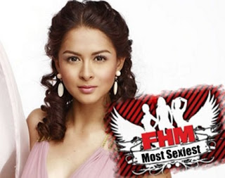 Marian Rivera hailed Most Sexiest Woman by FHM Phil.