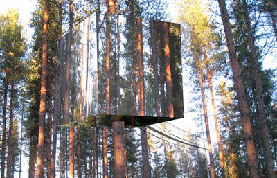 The invisible tree house hotel