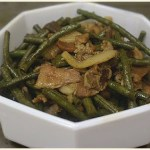 Recipe for the week: Adobong Sitaw (string beans)