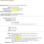 Proof of Payment from Ask2link (Jan 2010)