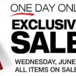 Go to SM Department Stores Today – June 30