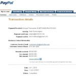 Proof of Payment from Ask2Link (June 2010)
