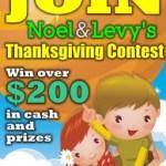 Thanksgiving Contest Winners CONGRATULATIONS!!!