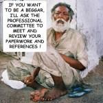 An unexpected answer from a beggar!