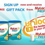 Sign up and receive a FREE gift pack from Mylac XL!