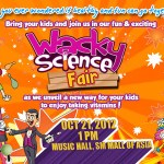 Mommies, bring you kids to the Wacky Science Fair on October 21 at SM MOA