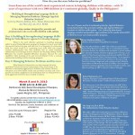 Seminar: Building & Strengthening Language Skills & Managing Behavior Problems Through Applied Behavior Analysis
