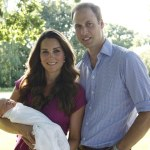 Latest Family picture of the Royal Family and Kate's Seraphine Dress