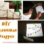 DIY Christmas Wrapper