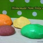 DIY: Non-Toxic Homemade Clay