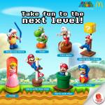 McDonald's Happy Meal: Super Mario Toys 2014