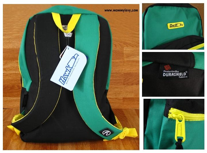 Hawk Backpack Bag for my first grader