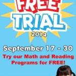 Kumon 2 weeks Free Trial 2014