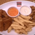 A hearty dinner: Shakey's Super Grand Slammin' Deal