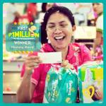 First PHP1 million winner of Pampers promo