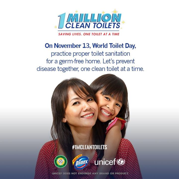 One Million Clean Toilets Movement to Lessen Missed School Days