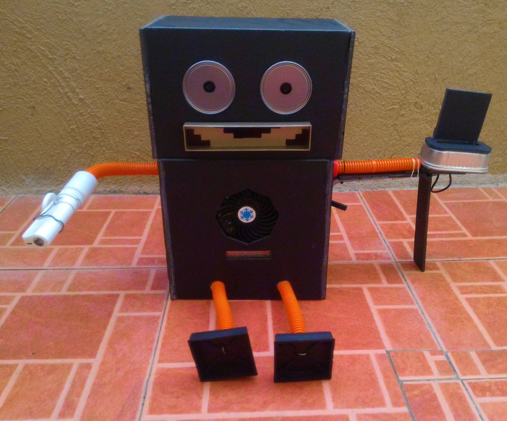 Trash Eating Robot: An Original Concept by Ren to Help Save Mother Earth