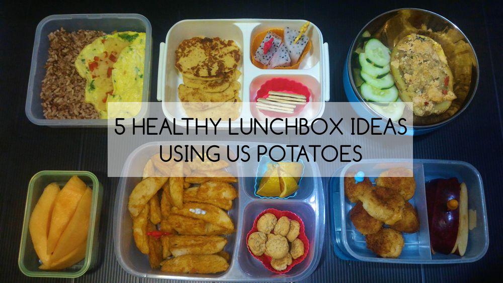 5 Healthy Baon Ideas using US Potatoes