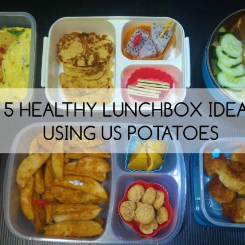 5 Healthy Baon Ideas using US Potatoes
