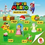Mcdonald's Happy Meal: Super Mario 2017