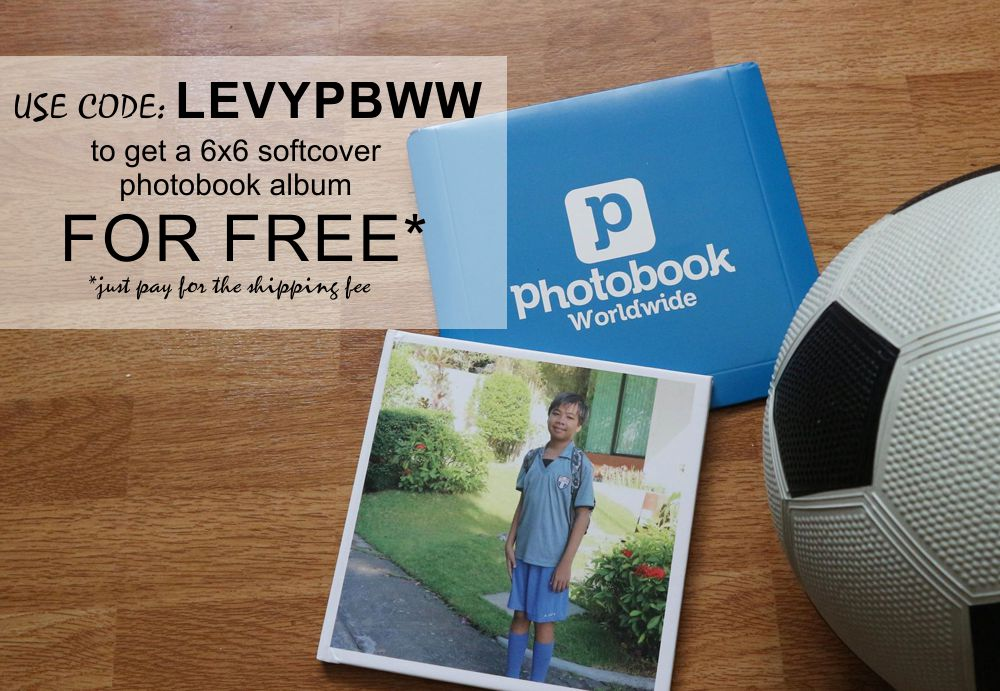 Use my Code and Get a FREE PHOTOBOOK 6x6 SoftCover - Mommy Levy