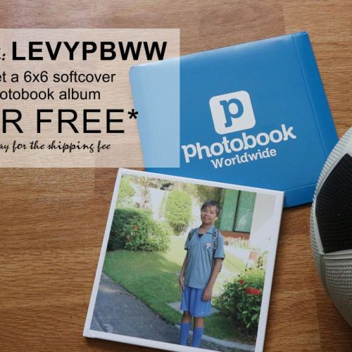 Use my Code and Get a FREE PHOTOBOOK 6x6 SoftCover
