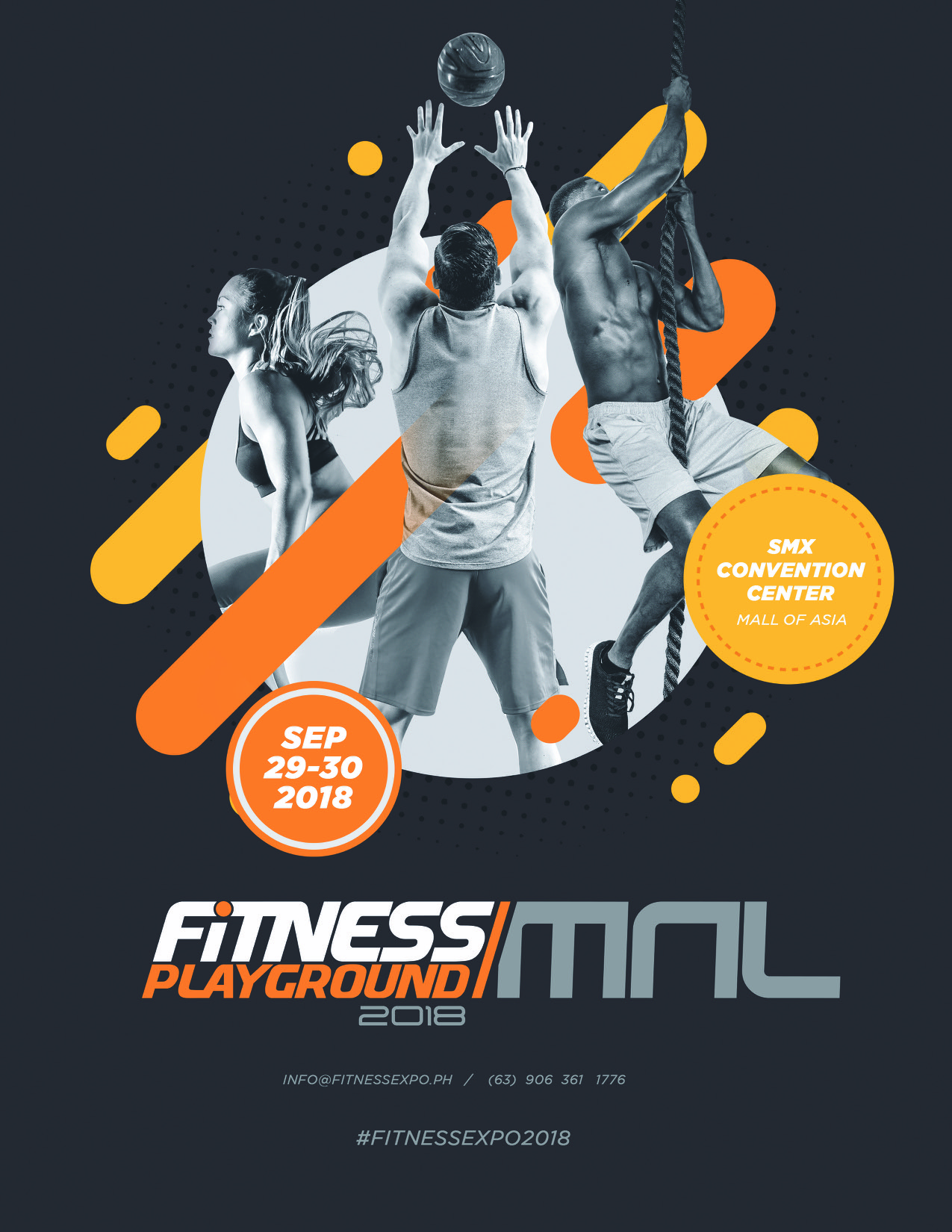 Be Ready for Fitness Playground MNL 2018