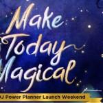 BDJ Planner 2019 Launch Weekend