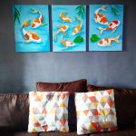 Our Koi Fish Painting