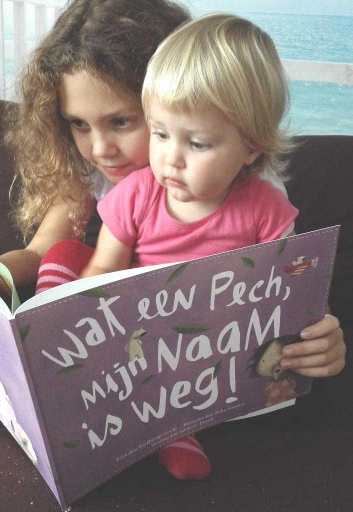 Voorlezen aan ongeduldige kindjes