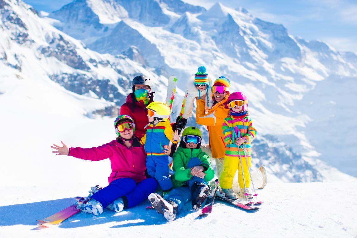 Veilig met je kinderen op wintersportvakantie