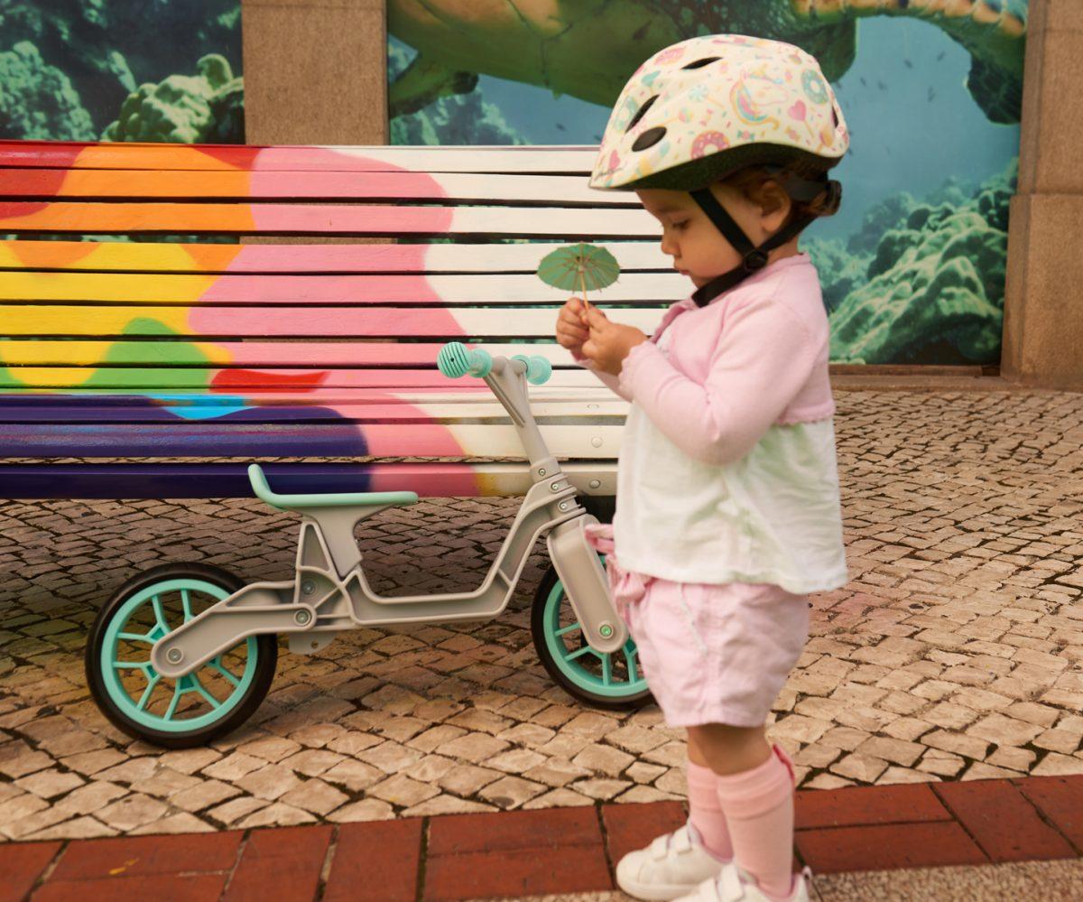 Balance Bike helpt je kind om zelf te leren fietsen