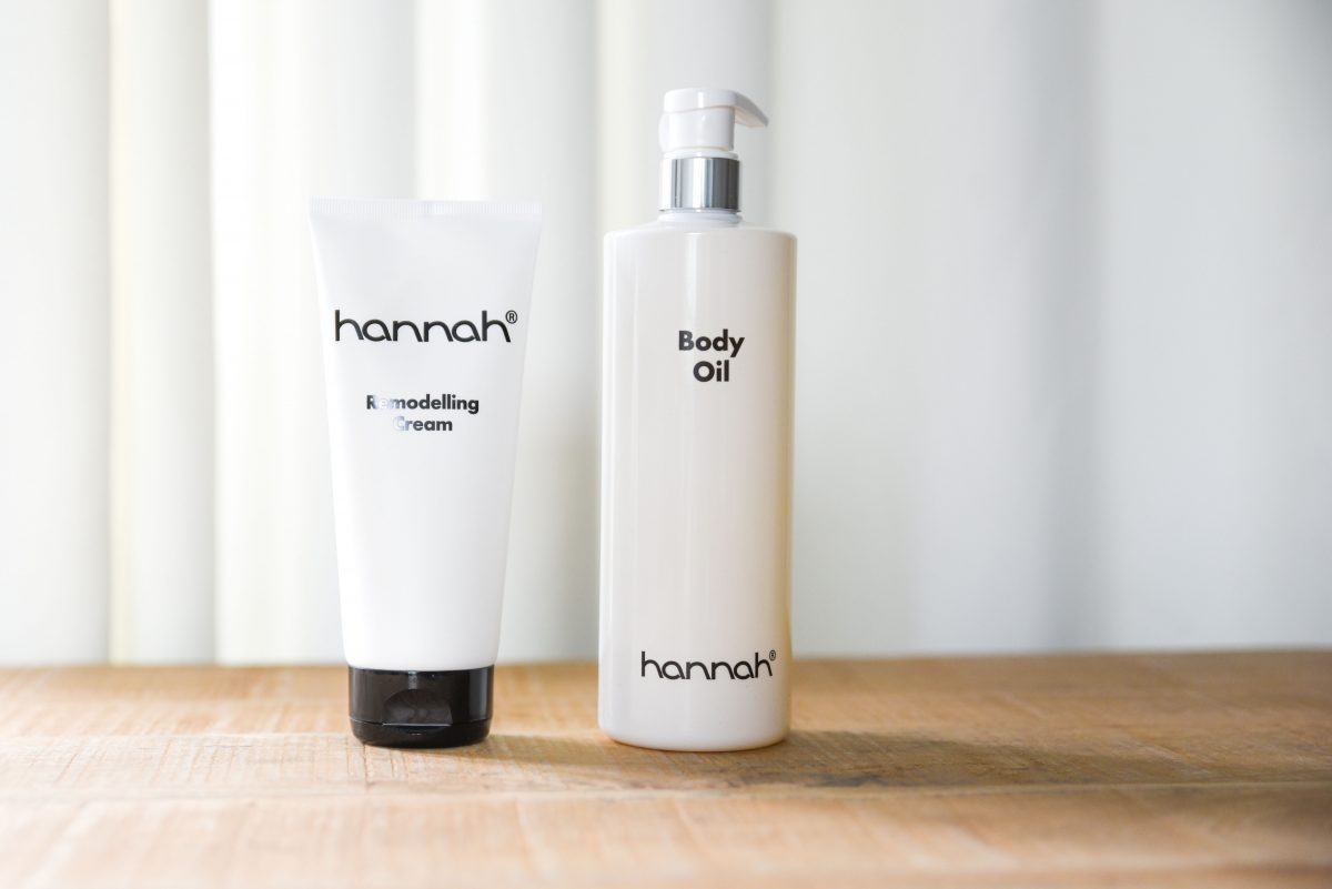 Hannah Remodelling cream & Hannah Body oil