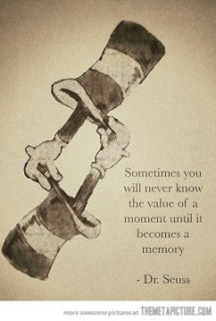 Dr Suess memory quote