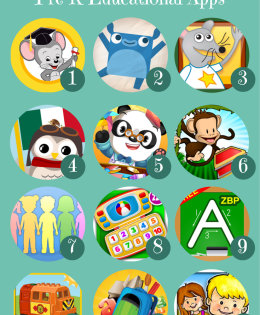 Top 12 Pre-K Educational Apps