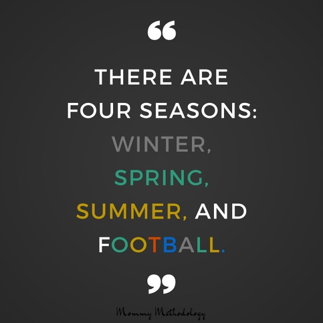 31 Days of Methods in Madness - Day 7 Method: Football & Food. Check out these links to awesome party food recipes and remember the four seasons- Winter, Spring, Summer, and Football! #write31days