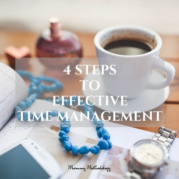 4 Steps to Effective Time Management