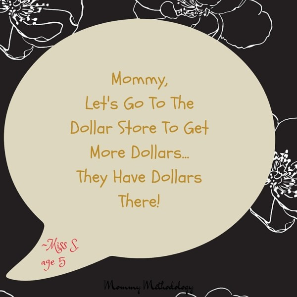Dollar Store Money