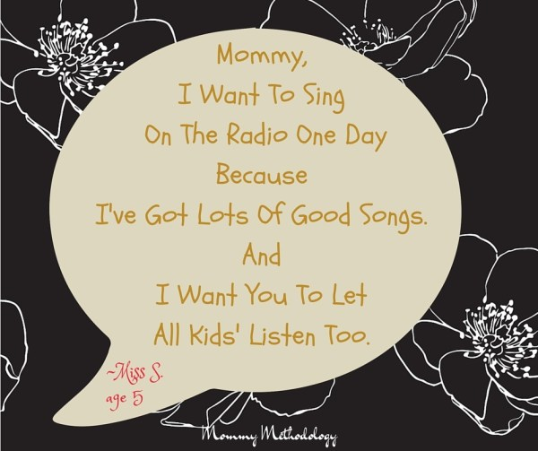 Sing on Radio Quote