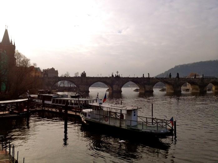Prague's bridges and castles
