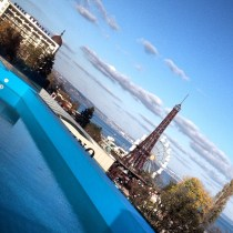 A view from the Infinity Pool