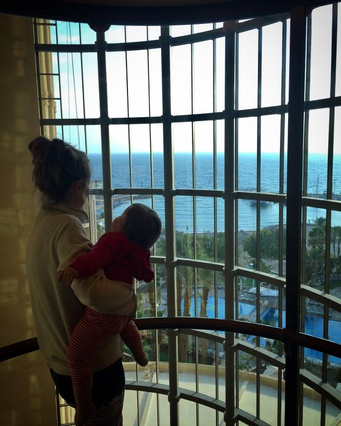 Queen of Sheeba Elevator View