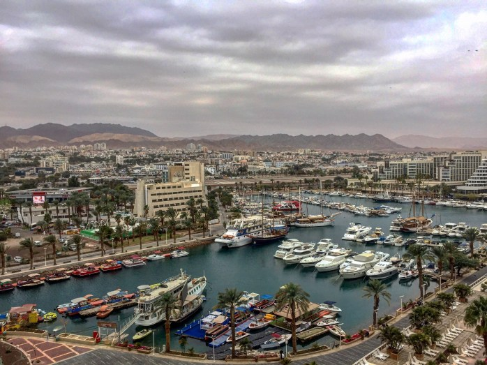 View of Eilat from Queen of Sheeba