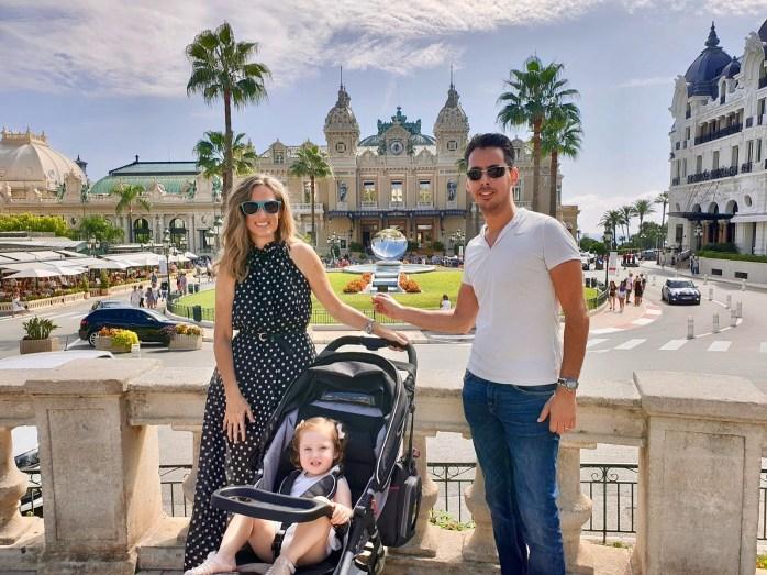 Family trip to Monaco