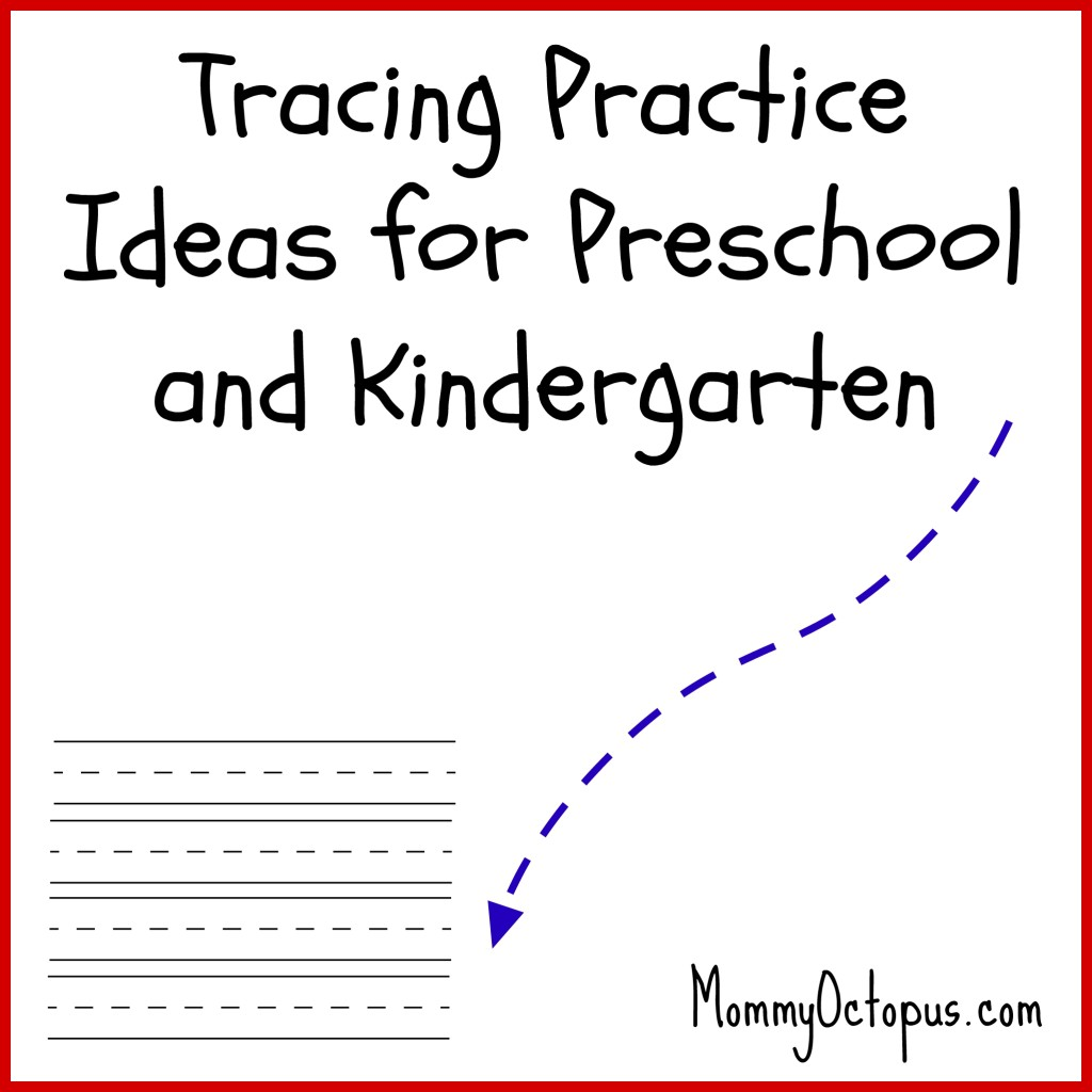 Tracing Practice For Preschool And Kindergarten Students