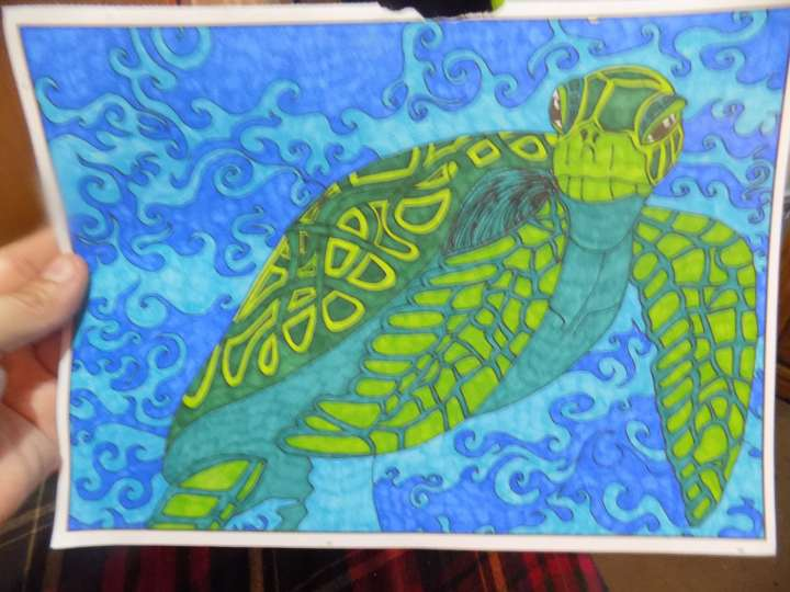 Review Of Art Therapy Aquatica Coloring Book.