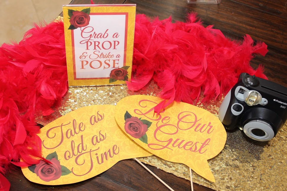 Belle Party Printables